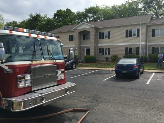 Montgomery Fire Department at Bedford Park Apartments