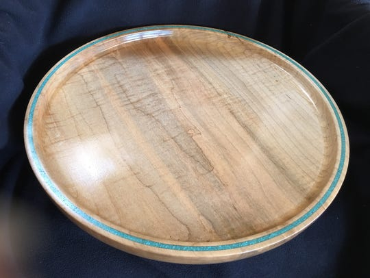 Woody Hoffman's wood-turned bowls, like the one shown