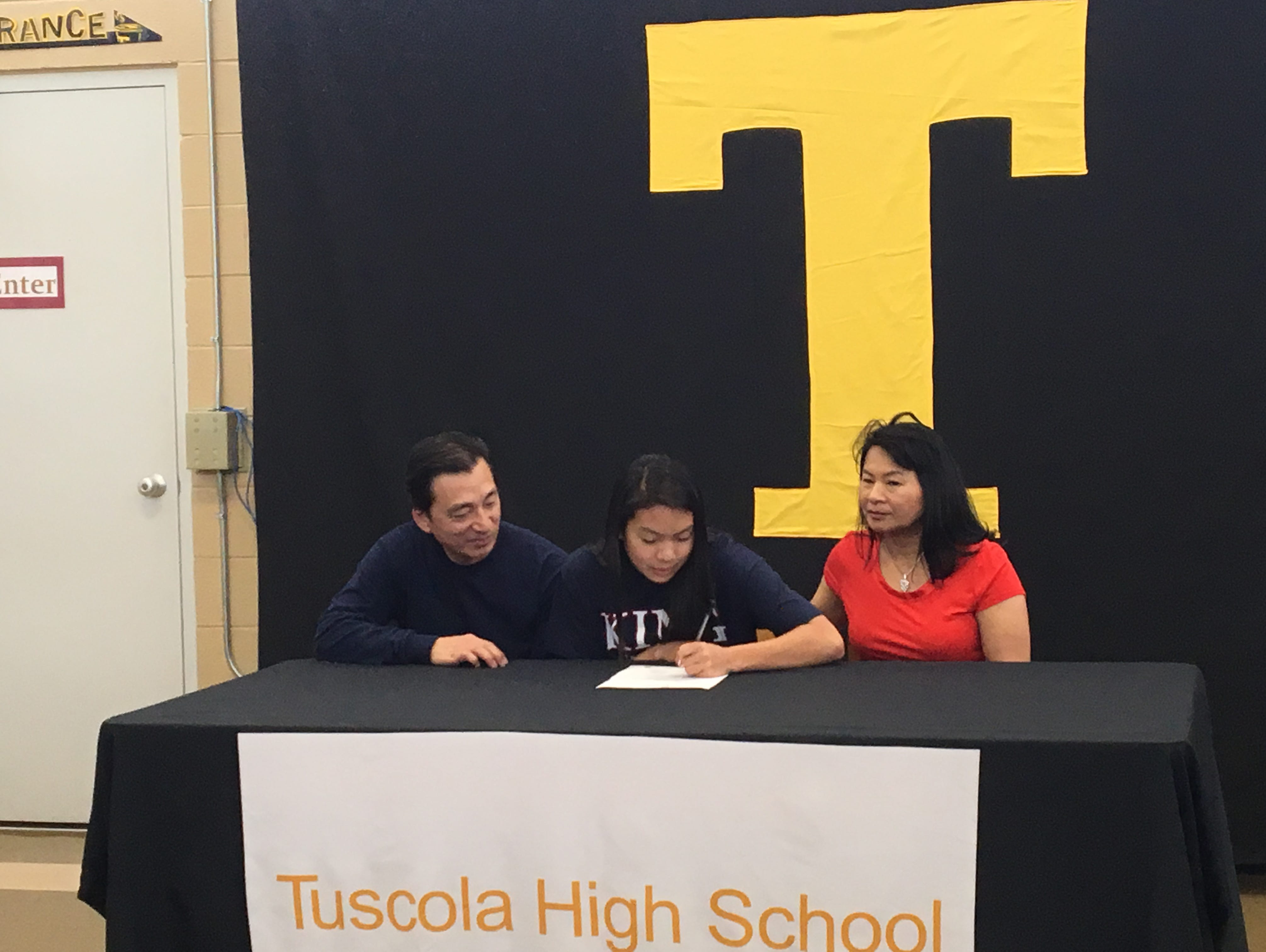 Tuscola senior Annie Ly has signed to swim in college for King (Tenn.).