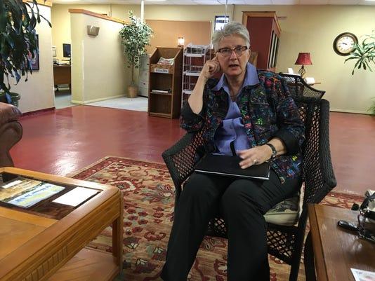State Senate hopeful Liz Stefanics
