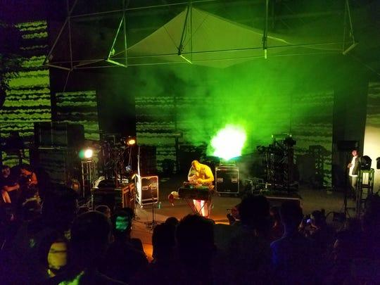 Dan Deacon performs Saturday night at FORM Arcosanti.