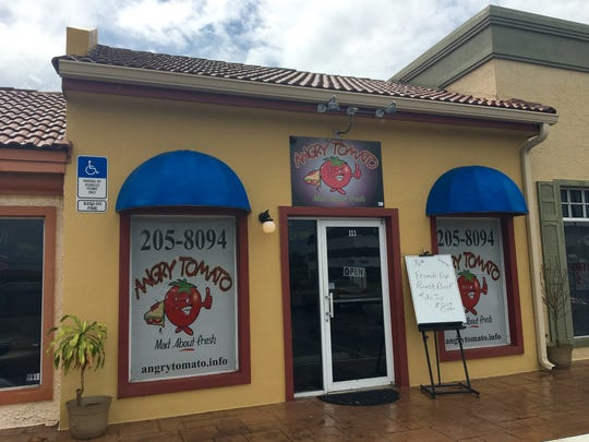 Angry Tomato opened in April 2014 on Del Prado Blvd. between Cornwallis and Savona parkways.