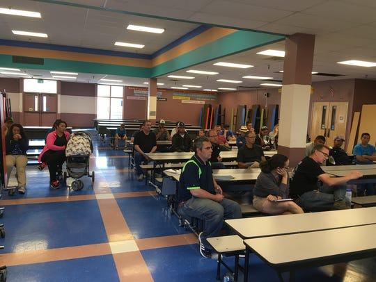 About 30 parents met with state youth soccer officials