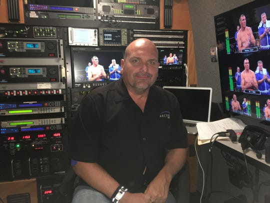 Brian Stanley in one of ARCTEK HD van during a recent