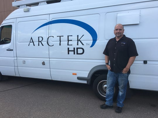 St. Cloud State graduate Brian Stanley was one of the founders of ARCTEK HD, a mobile satellite TV company based in Minneapolis. Stanley was one of the first to work at Husky Productions as a student in 1992 and has been its producer for the last four years.