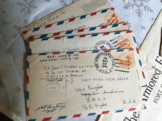 Jesse Campbell's letters home to his father, Alexander