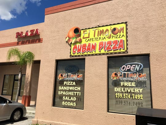 El Tinajon in Cape Coral bills itself as a cafeteria and Cuban pizzeria.