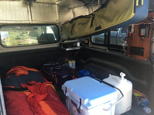 The fact truck camping is allowed in the parking lot at the Kohm-yah-mah-nee Visitor Center in Lassen Volcanic National Park makes ski trips in the park more convenient.