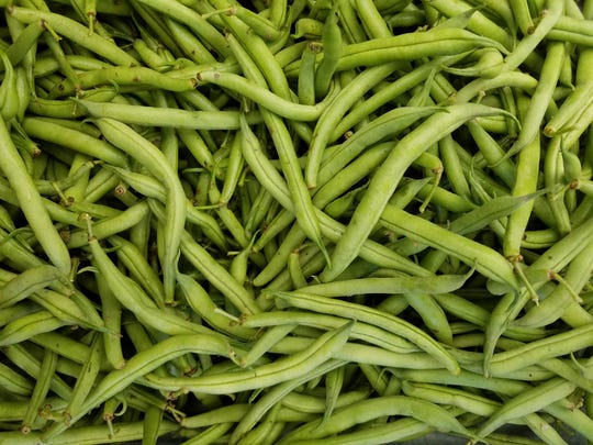 Get ready for canning as green beans reach markets. These are from Ten Mile Farm at River Arts District Farmers Market.