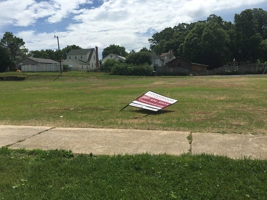 The former site of Wayne Lanes is up for sale in Waynesboro.