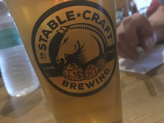 Steal the pint night on July 8, 2016 at Stable Craft Brewing outside of Waynesboro.