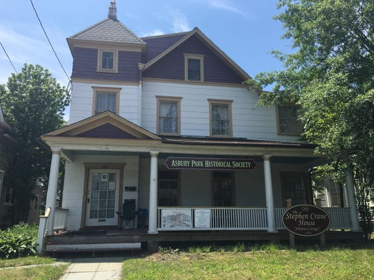 The newly renovated Stephen Crane House in Asbury Park.