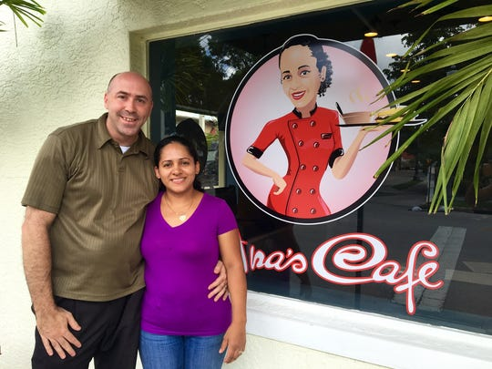Mike and Ana Lewis opened Ana's Cafe July 25 at 2241 Widman Way in downtown Fort Myers.