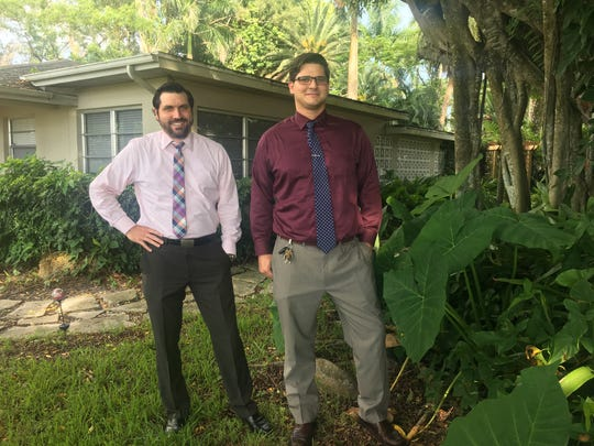 Jason and Max Short turned one half of a duplex they own in the Dean Park neighborhood near downtown Fort Myers about a year ago.