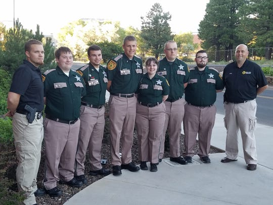 Pictured is the 2016 nationals team, with their advisers.