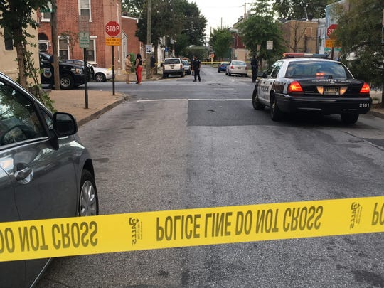 One person was taken to Christiana Hospital following a shooting Tuesday night in Wilmington.