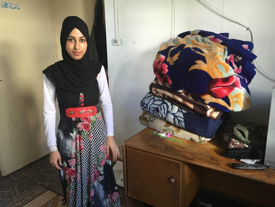 Reem Amsha, a recent graduate, can't wait to move out
