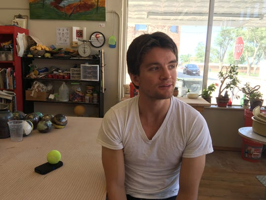 Simon Pawlak enjoys a final day in his mother's Heart