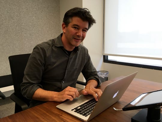 Travis Kalanick, CEO of Uber, recently spoke to USA