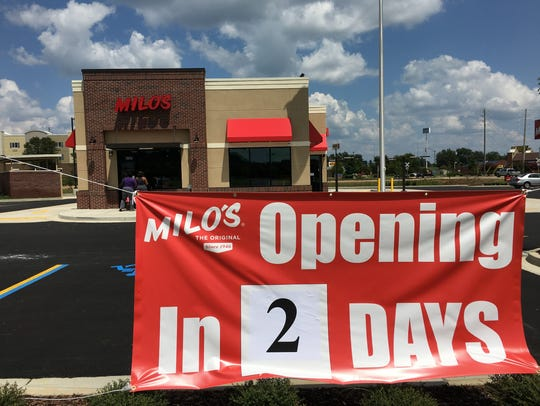 Milo's new location on Eastchase Parkway opens to the