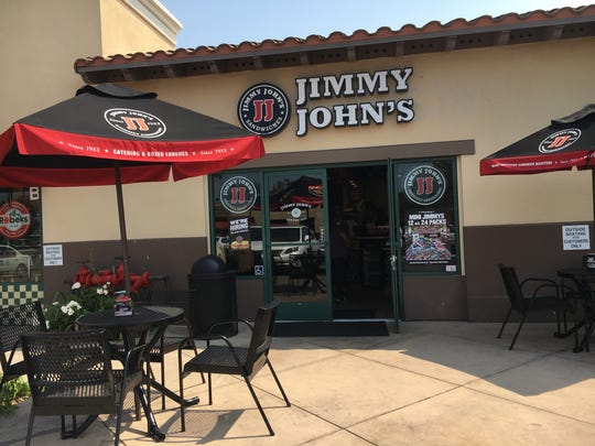 This is the Ventura location of the Jimmy John's chain.