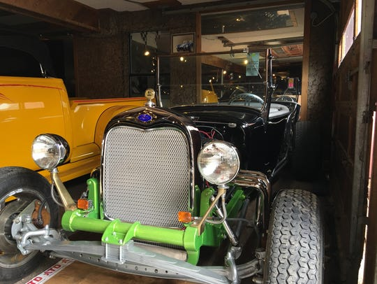 Ron MacWhorter's collection includes many cars from