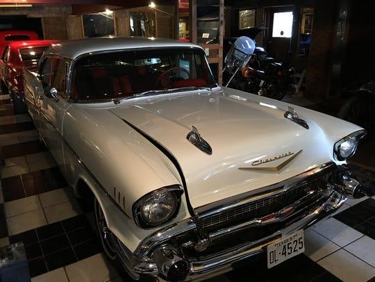 Car collector Ron MacWhorter has an eye for vintage
