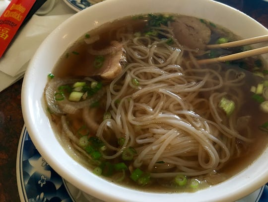 Beef brisket pho from Pho 38 in Cape Coral.