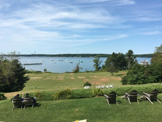 Chebeague Island Inn in Casco Bay is located just 10
