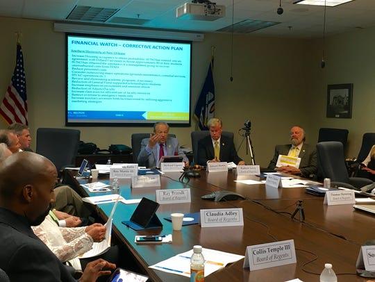 The Louisiana Board of Regents met Sept. 21 and 22
