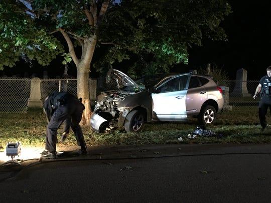 Burlington Police said six people were injured Saturday