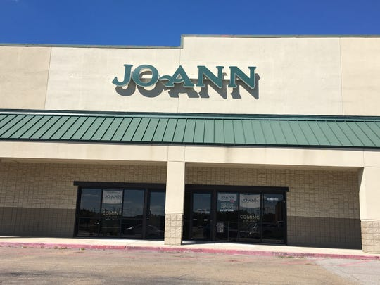 Jo-Ann Fabric and Craft Store plans to open its doors Oct. 13 at 4501 Hardy St., Suite 30.