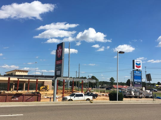 A new Dandy Dan's gas station and convenience store will be opening soon at 4401 Hardy St. at the intersection of Westover Drive.