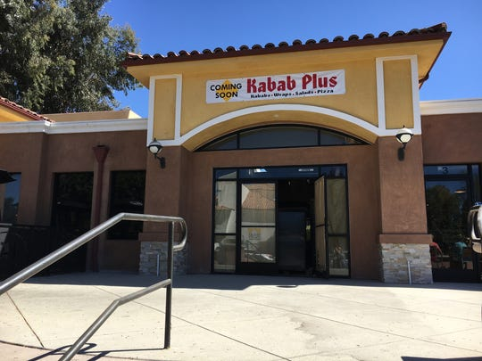 Kabab Plus is under construction in a Thousand Oaks complex that includes Dog Haus and Urbane Cafe.