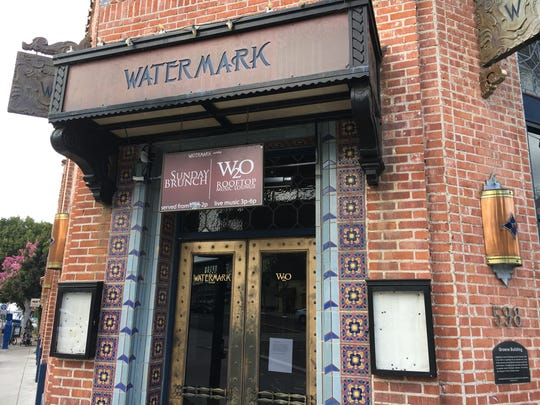 Watermark on Main restaurant and its rooftop lounge,