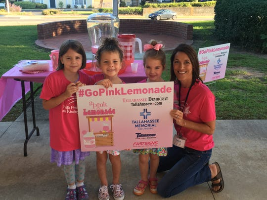 Go Pink Lemonade day at Faith Preschool & Kindergarten