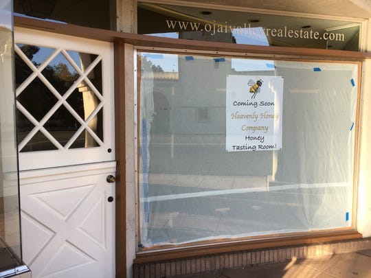 The Heavenly Honey tasting room in Ojai is moving to a new address in the historic Arcade. It is expected to open on Saturday.