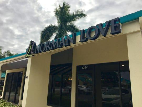 Norman Love's chocolate salon on McGregor Boulevard
