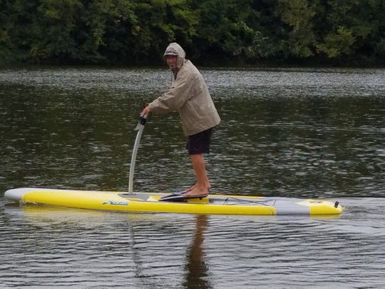 St. Louis competitive paddleboarder Shane Perrin will join Ozark resident Jaden Hartley in an attempt to set a pedal board record at Table Rock Lake.