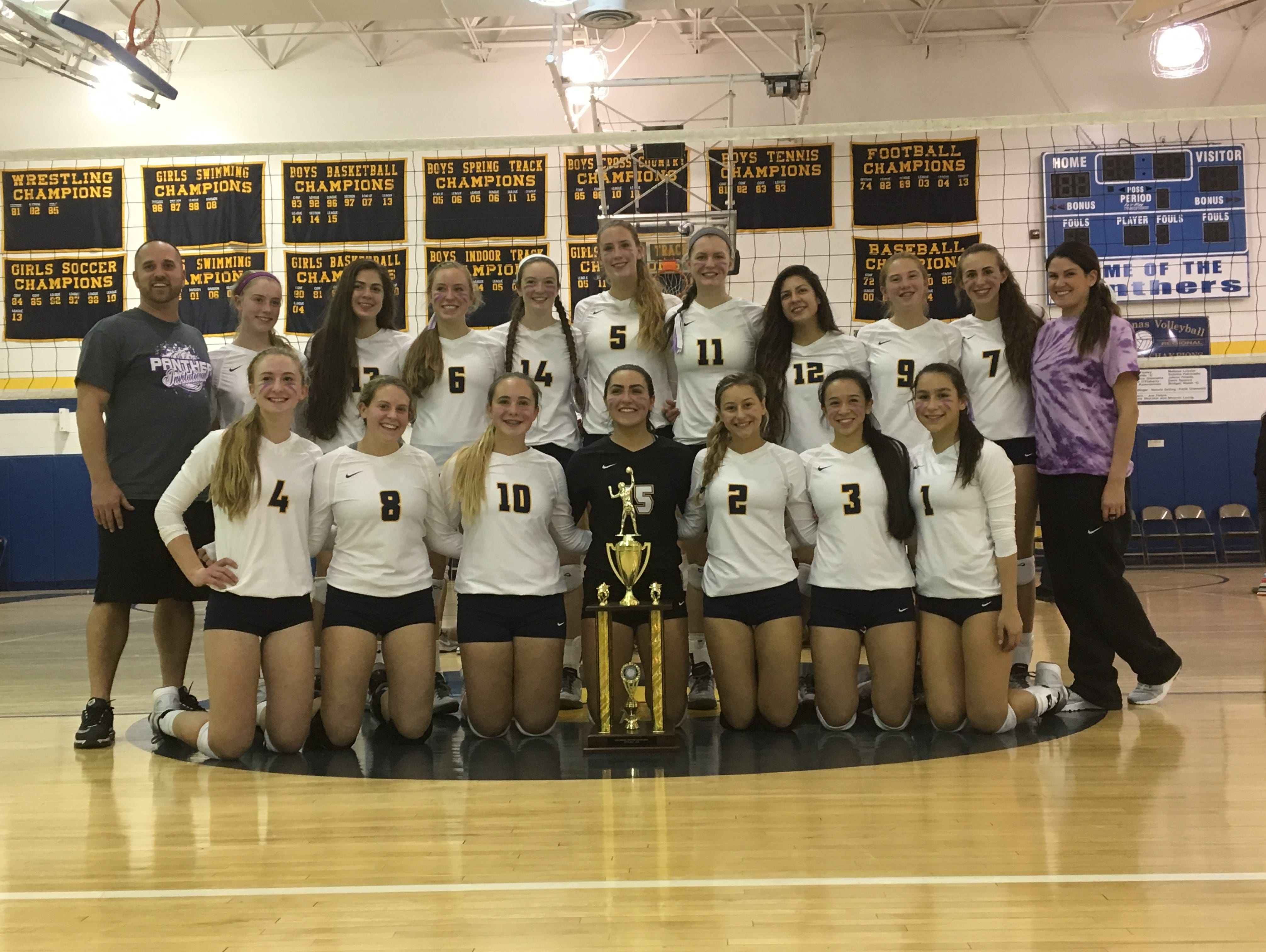 Panas went undefeated at the 13th annual Panther Invitational to defend its tournament title. Oct. 15, 2016.