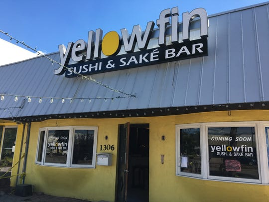 Yellowfin Sushi opened in early December 2016 on Cape