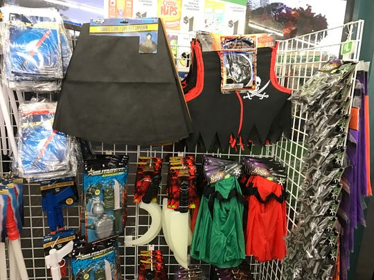 Dollar Tree has costume accessories for $1 each. Other options include tiaras, butterfly and fairy skirts.