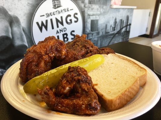 Sweetwater Wings & Ribs hot chicken