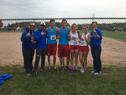 St. Clair cross country wins regional meet