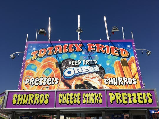 While Totally Fried offers the classic fried fair foods,