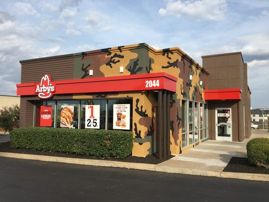 Nashville's Arby's restaurant on Rosa Parks Blvd. sold out of venison sandwiches on the first day of a four-day promotion.