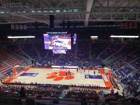 Clemson-Lander basketball