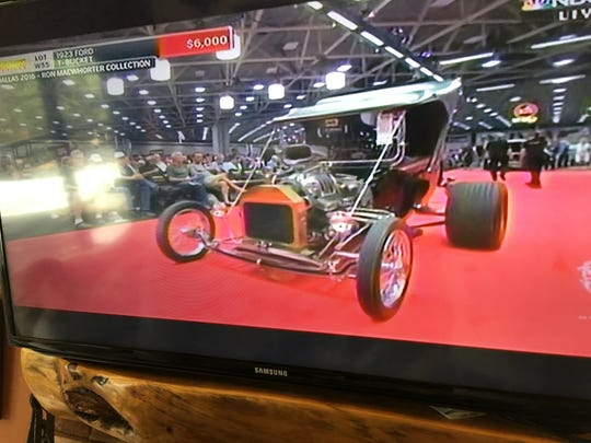 This 1932 Hi-boy street rod was one of the few vehicles