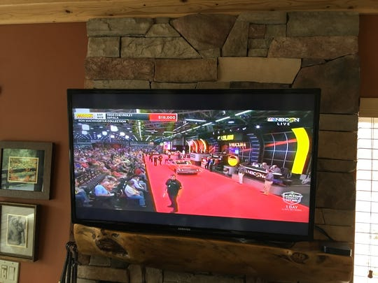 Mecum Auctions televised Wednesday's event from the