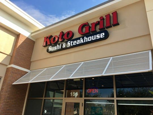 Koto Grill opened in July on NE Pine Island Road in Cape Coral.